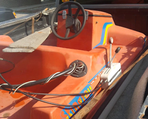 1970's first edition of the sea-doo, 20hp