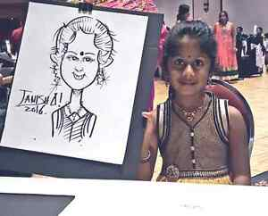the wedding caricature art and portrait art  West Island Greater Montréal image 5