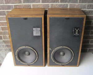 Vintage Infinity Qa Speakers (With Emit Ribbon Tweeter)