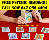 ♦FREE PSYCHIC READING Call Me Now 647-955-4494♦