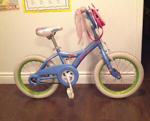 "Girls 16"" Avigo Cupcake Bike"