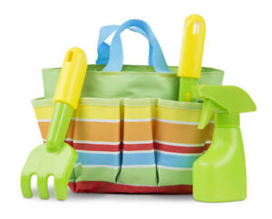 Brand New Melissa & Doug Giddy Buggy Gardening Tote Set