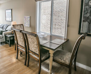 5 pc Dining Set (Table from Pier 1)