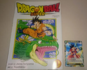Dragonball expo exclusive comic and card