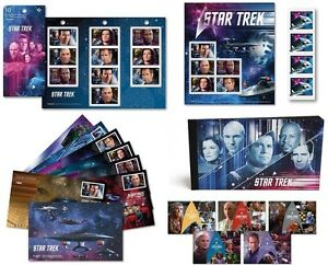 Canada Post Star Trek Year 2 Stamps Postcards & First Day Covers