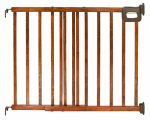 Two Wooden Baby Gates