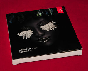 Adobe Lightroom 4 Full Retail Version (Mac and/or PC)