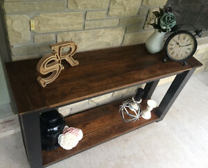 Rustic Country Chic Sofa Table Belleville Belleville Area image 10