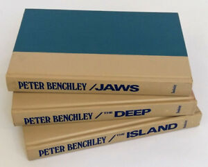 Peter Benchley Collection (3) - Jaws, The Island and The Deep