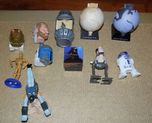 11 MIXED STAR WARS FAST FOOD TOYS LOT