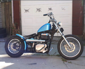 REDUCED PRICE $5000- One of a Kind - Hardtail Bobber