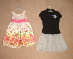 Girls Dresses, Clothes, Jackets, Swimsuits  - sizes 6, 7, 8