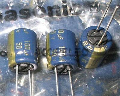 4pcs Panasonic FC 100uF/50V Electrolytic Capacitors Hi-Fi Audio