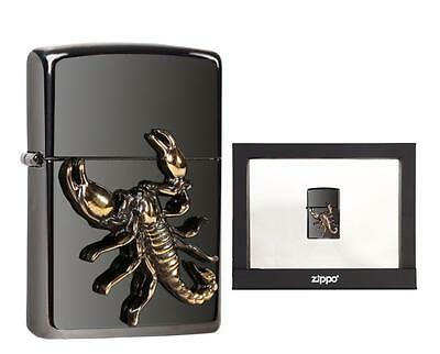 Zippo Feuerzeug Golden Scorpion Ebony Limited Edition XXXX/1000