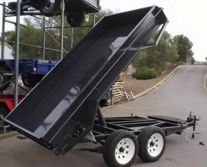 8x5 Hydrualic Electric Pump Tipper Adelaide Region Preview