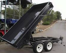 10x5 Heavy Duty Tandem Electric Tipper Trailer Mount Barker Area Preview