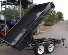 8x5 Heavy Duty Tandem Electric Tipper Trailer Copper Coast Preview