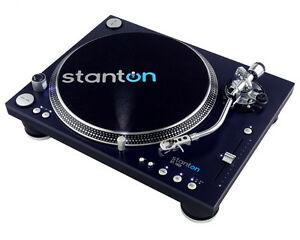 SEALED-STANTON-ST-150-DIRECT-DRIVE-TURNTABLE-w-CARTRIDGE-SLIPMAT-DUST-COVER