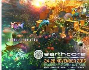 Earthcore 2016 (Parallel Universe)- Pyalong Victoria Warrnambool Warrnambool City Preview