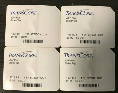 Transcore Ego Plus Mini Sticker Rfid Tag 5 Pk