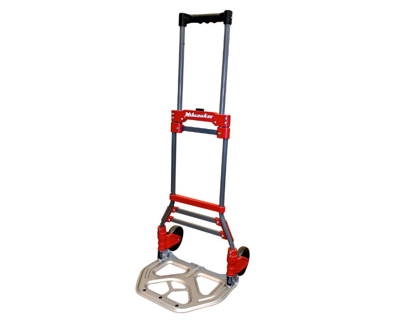 Folding Hand Truck Portable Moving Cart Durable Light Weight