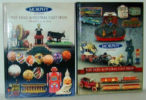 Morphy Auction 2 Catalogs MarSept 2019 RARE Mechanical Banks Machine Man Beatles