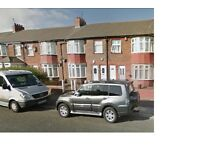 Howdon,Tynemouth Road.Brand New 3 Bed Upper Flat.Private Garden.No Bond!DSS Welcome!