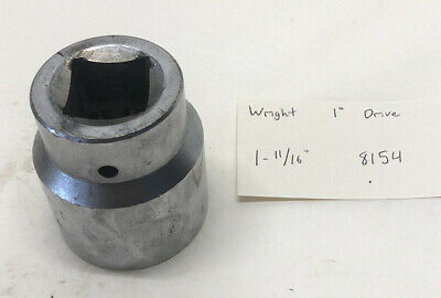 Wright 8154 1-1116 12-point Socket 1 Drive Free Shipping