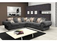 Brand new verona fabric sofa collection, available in a 3+2 set or corner for £729.99 FREE DEL IVERY