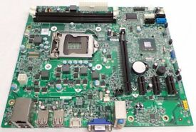 Dell Optiplex 390 MT 2010 DT Socket 1155 Motherboard HDMI, USB 3.0 MIH61R | 042P49 and 42P49