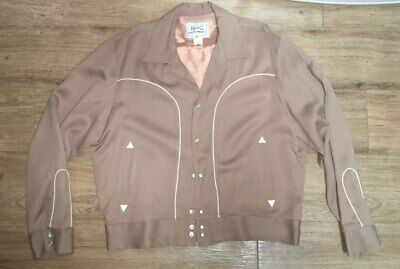 50's H bar C Rockabilly Gabardine Jacket(42/XL)