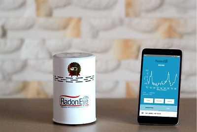 FTLab Radon Eye Smart Radon Detector Radon Gas Tester radon monitor free APP