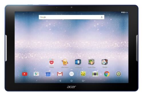Image of Acer Iconia One B3 A30 10 Inch 1.3ghz 1gb 16gb Android 6.0 Tablet - Blue - Argos