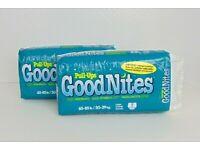 2007 Sealed NIP Vintage GoodNites Girls