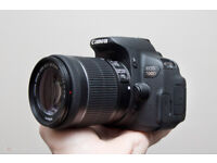 Canon 700D, 4018 shutter count near mint, with 18-55mm lens, 3 batteries 2 SD cards, box ...
