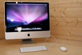 Apple iMac 24' 2.66Ghz 4GB Ram 640GB HDD Ableton Logic Pro X Cubase Omnisphere Massive Absynth Waves
