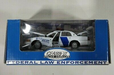Gearbox Ford Police Crown Victoria Homeland Security Federal Police Diecast