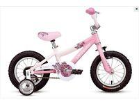 "(2622) 12"" Lightweight Aluminium SPECIALIZED Girls Kids Bike Bicycle+STABILISERS Age: 2-4, 85-100cm"