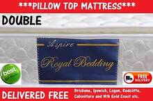 DOUBLE Mattress with Pillow Top NEW MATTRESS - Delivered FRE...