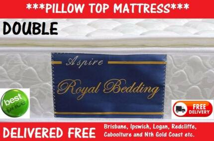 **FREE DELIVERY** NEW Pillow Top Mattress - DOUBLE Size - $199 New Farm Brisbane North East Preview