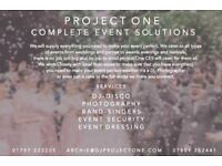 Project One Complete Event Solutions