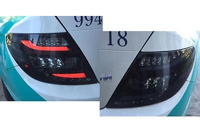 LED RÜCKLEUCHTEN MERCEDES W204 11-15 LIMOUSINE SCHWARZ RÜCKLICHT LED HECKLEUCHTE