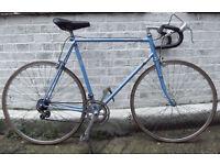 Vintage racing bike PEUGEOT frame 23inch - serviced & warranty - Welcome
