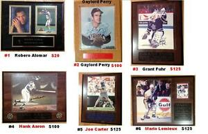 Hockey & Basball & Stamps Sports memorabilia Collection