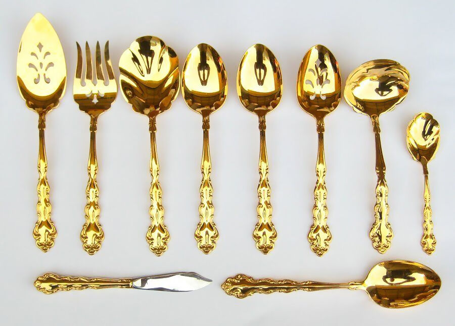 How to Clean Gold-plated Cutlery