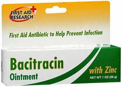 First Aid Research First Aid Ointment With Zinc 1 oz