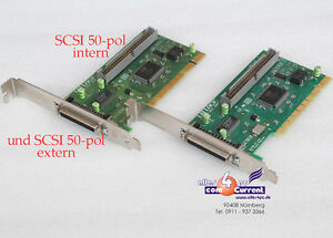 Pci-Scsi-Controller-50-Pin-For-HDD-Hard-Disk-Jaz-Zip-Streamer-Dat-CD-Rom-DVD-RW