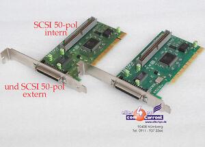 PCI-SCSI-Controller-LSI-Logic-SYM20860-53c860e-50-pin-For-Jaz-Zip-Streamer-Dat