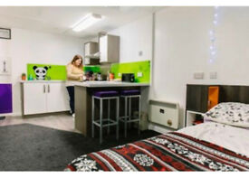 Studio flat at Liberty Point student accomodation