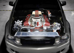 Car Motor Full Color Graphics Adhesive Vinyl Sticker Fit any Car Bonnet #037